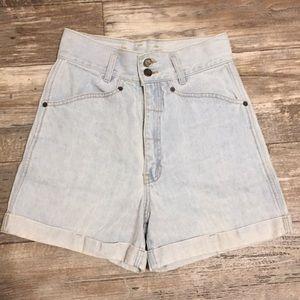 Vintage 90's High Waisted Femme Fatale Shorts